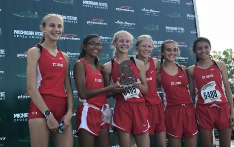 SLHS runners take 3rd at Spartan Invite