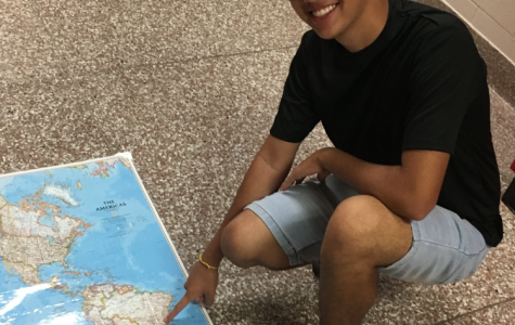 All the way from Brazil, SLHS welcomes Gui