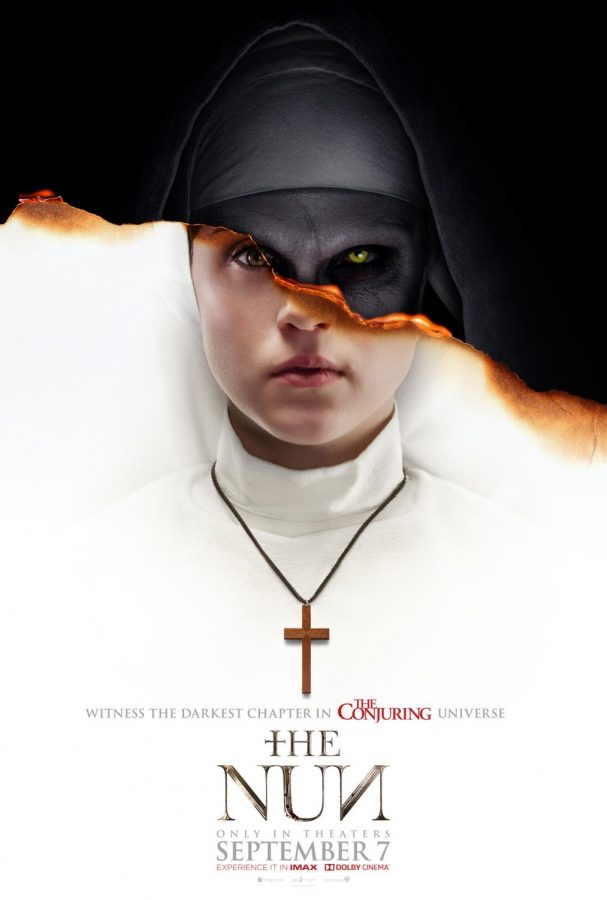 Theatrical poster for the movie: The Nun