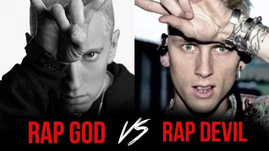 Eminem+faces+off+against+Machine+Gun+Kelly.