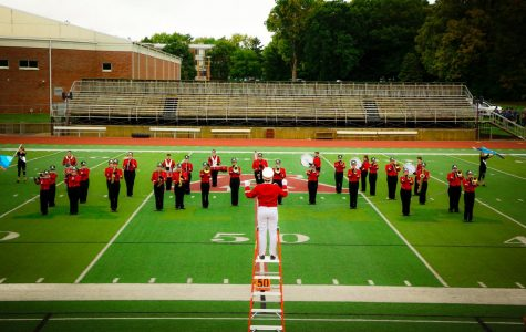 SLHS Marching Band finishes second at Alma College competition