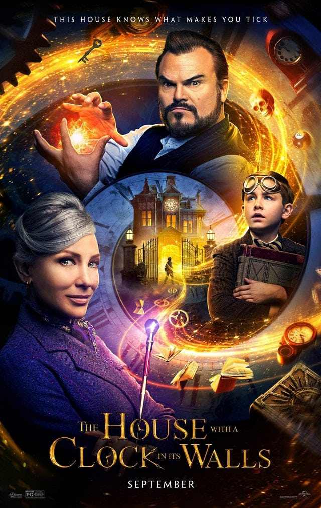 The House with a Clock in its Walls movie poster.
