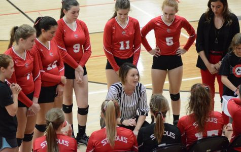 Volleyball wins league title; First in five years