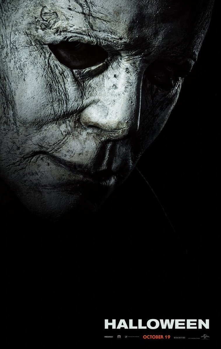 Halloween 2018 movie poster.