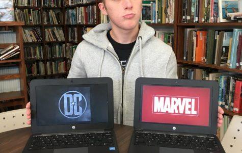 A classic debate: Marvel vs. DC