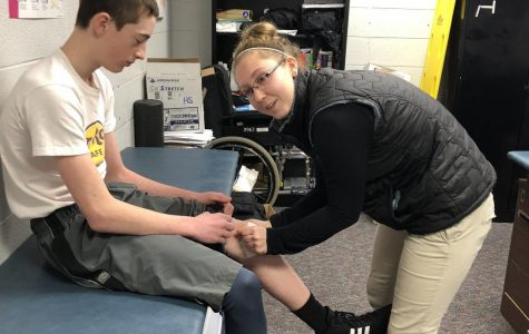 St. Louis High School's outstanding athletic trainer: Gabby Bass