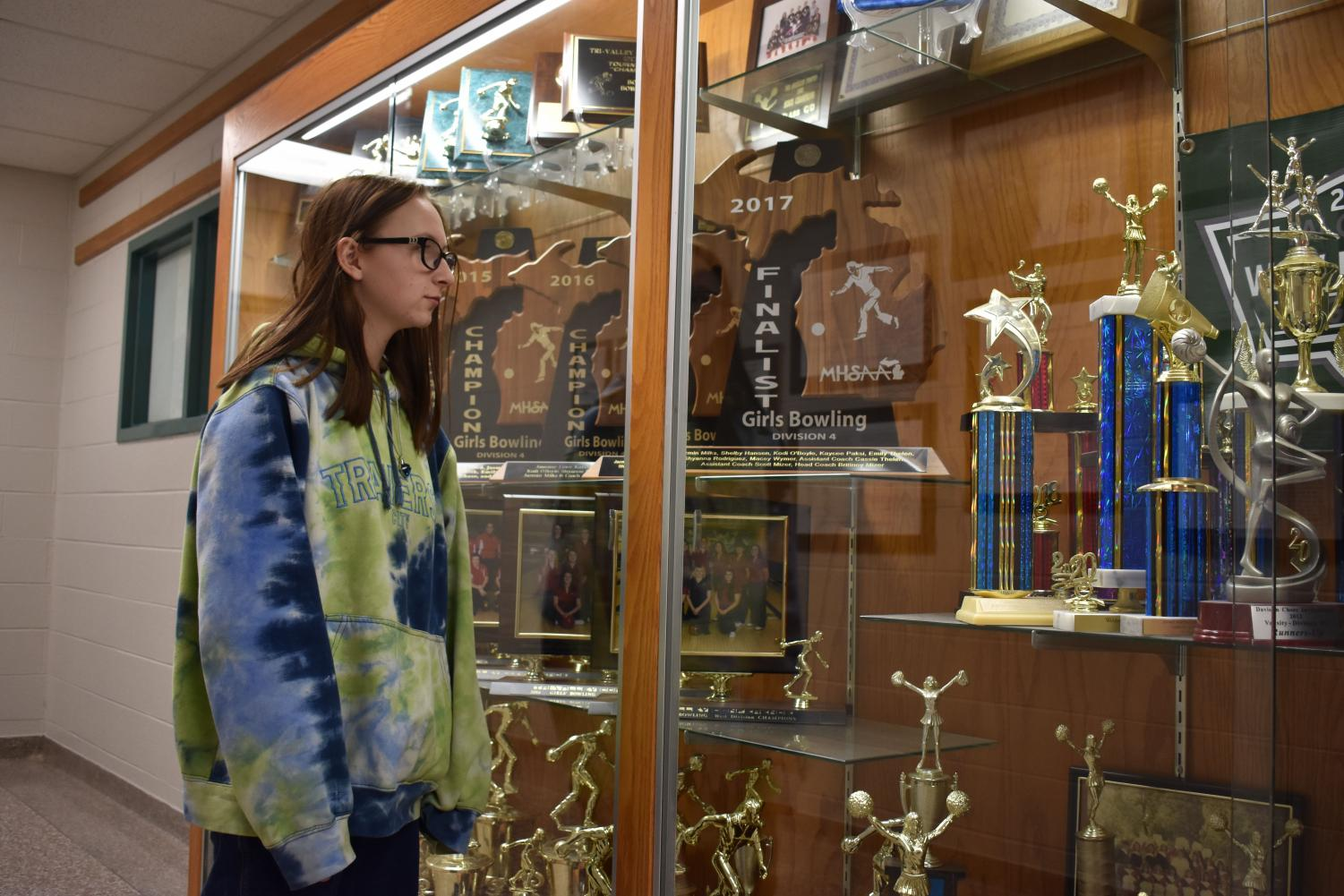 Bowler Shannan Mitchell admires St. Louis' past success.