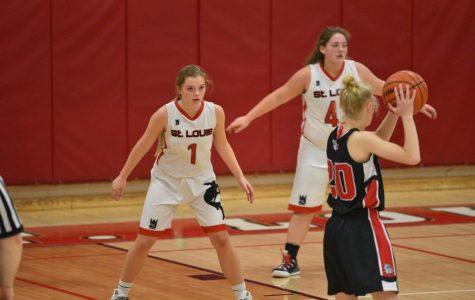 Varsity basketball takes on St. Charles Bulldogs