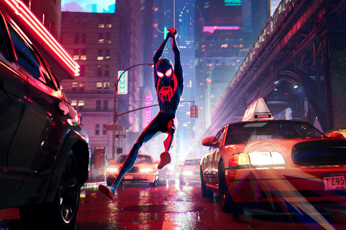 An image from Spider-Man: Into the Spider-Verse.