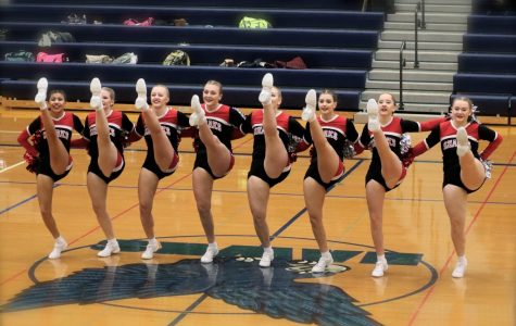 St. Louis Poms performs at regional competition