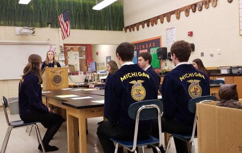SLHS FFA wins big at the District Leadership Development Event
