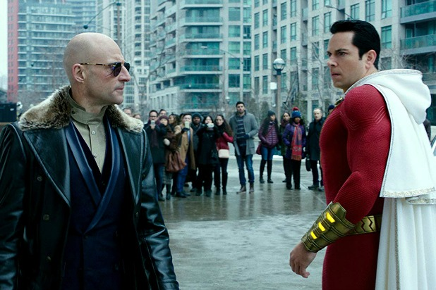 Snapshot from the movie Shazam.