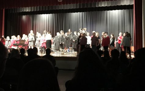 Band and Choir deliver great performances