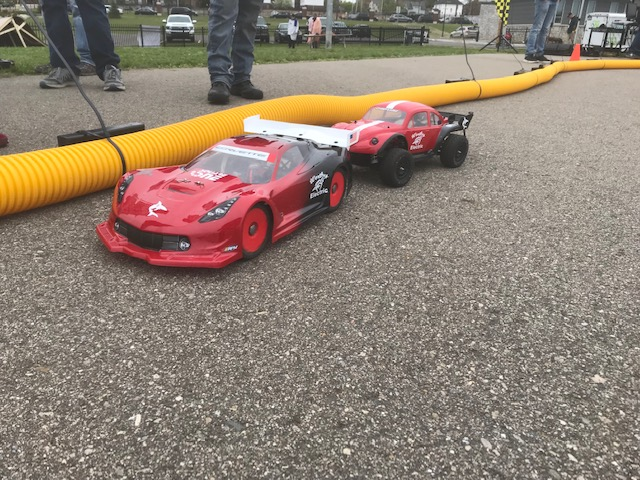 Sharks+IVD+competes+with+the+cars+they+assembled.