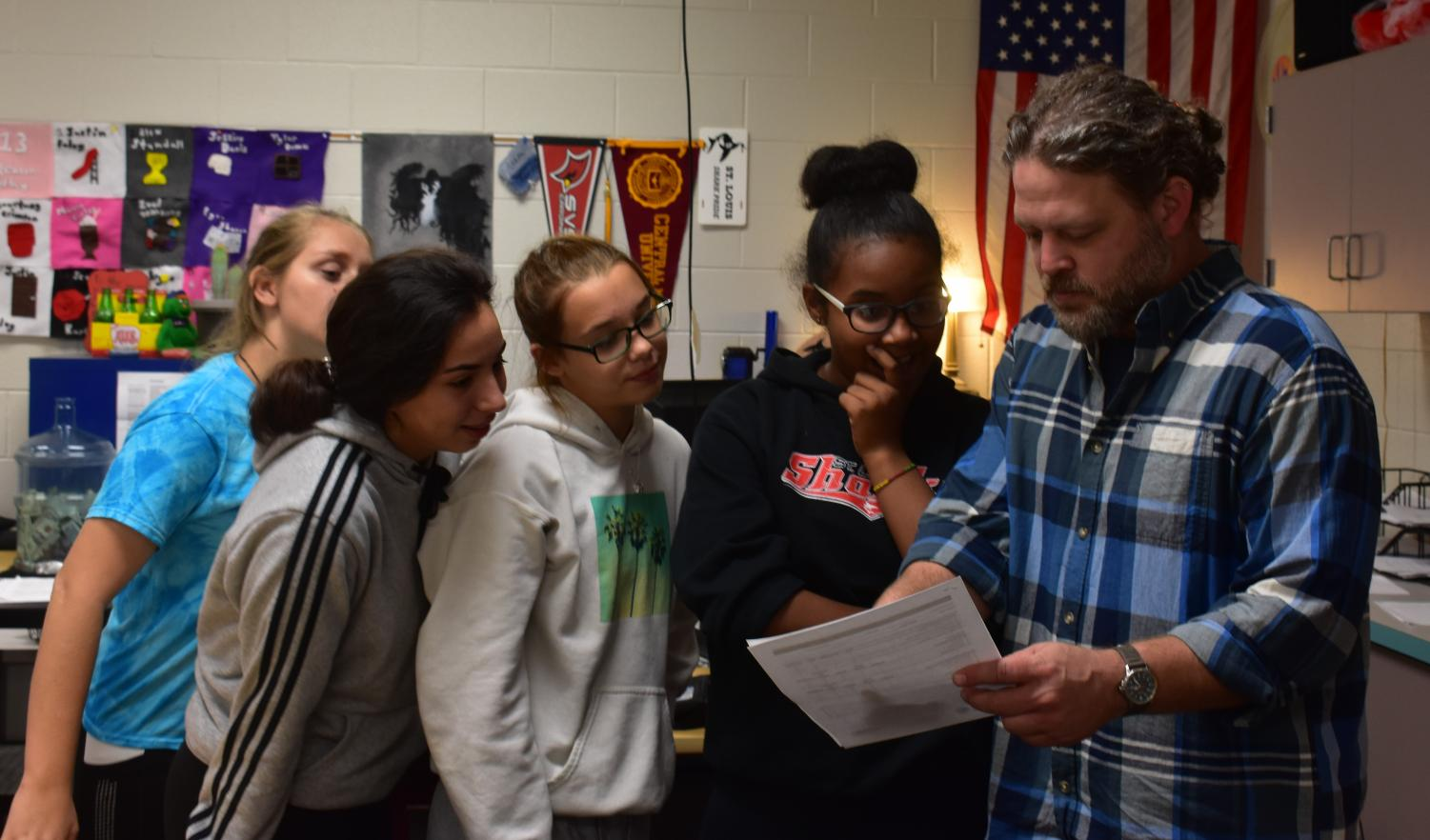Mr. Caszatt is a great teacher, and many students have expressed how they enjoy his classes.