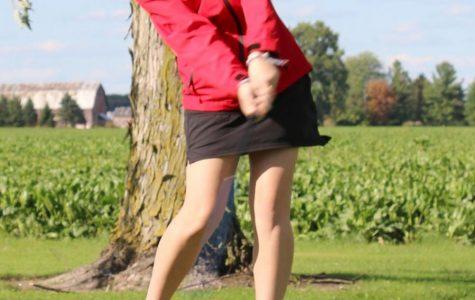 Girls' golf finishes conference season at Freeland