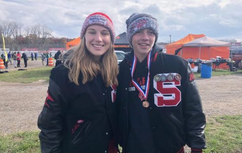 2 Shark athletes earn all-state at cross country state