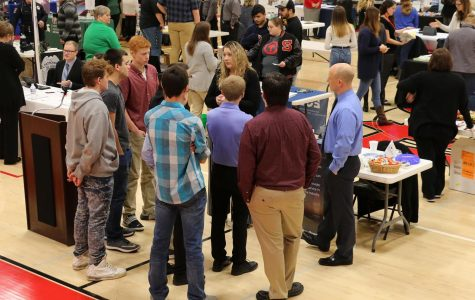 SLHS hosts another successful career fair