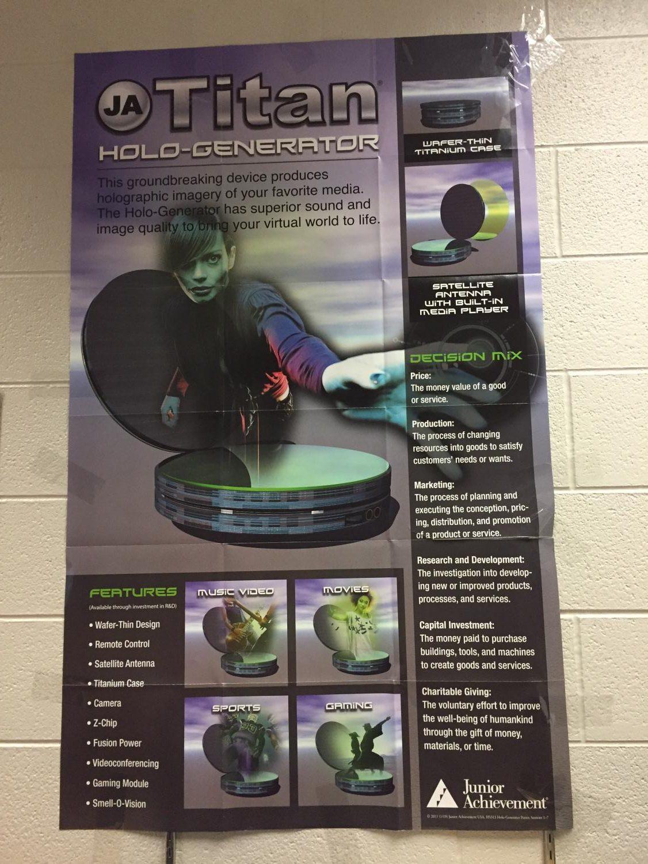 Titan Holo-Generator poster