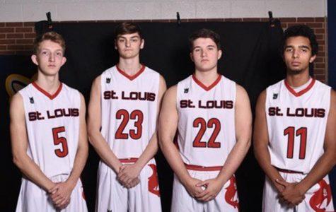 Varsity boys' basketball open season with a win