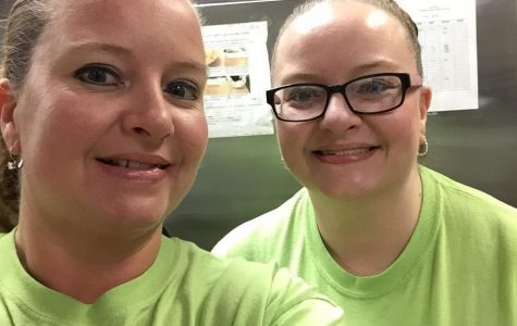 Having double vision? Nope, just our twins in food services!