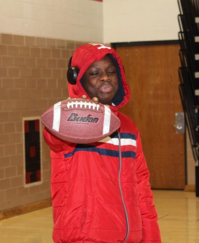 Freshman Wisdom Zanquo is rooting for the 49ers in the Super Bowl this year.