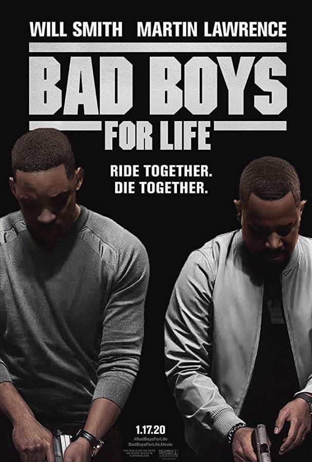 Promotional poster for Bad Boys for Life.