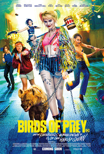 Promotional poster for Birds of Prey.