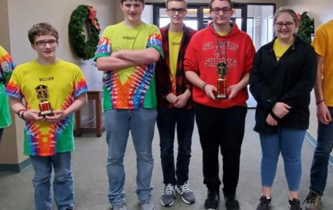 Students compete in Teen Bible Quiz