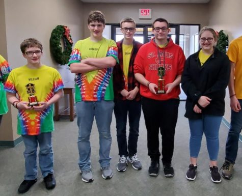 The Teen Bible Quiz team did well at their competition.