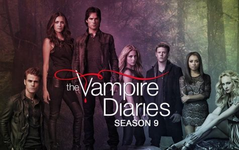 The Vampire Diaries promotional poster.