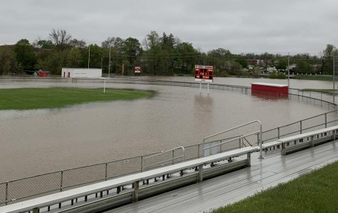 The flooding affected Wheeler Field.