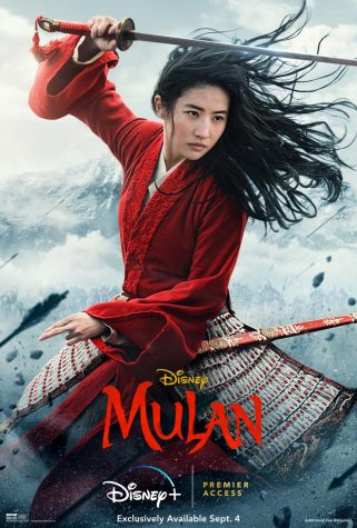 Promotion for Mulan.