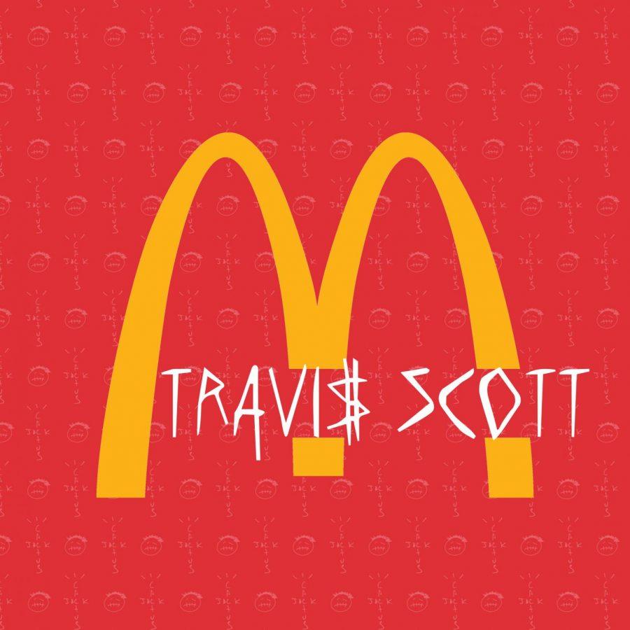 Promotion for Travis Scott/McDonald's collaboration.