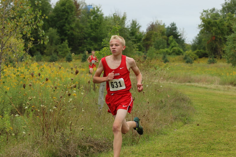Freshman Ben March had an impressive fourth place finish with a time of 17:25.3.
