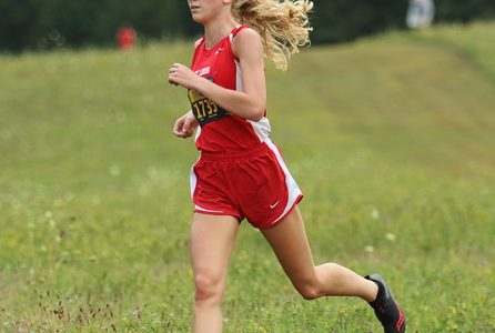 Mikenna Borie had a strong start to the season with a third-place finish.