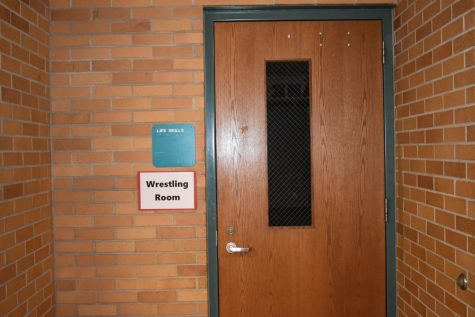"""The old health room will now be used as the """"Wrestling Room."""""""