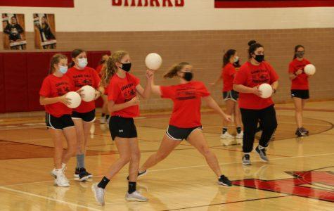 SLHS hosts dodgeball tournament