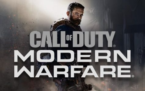 Promotion for Call of Duty: Modern Warfare.