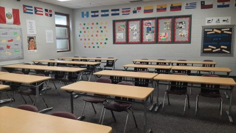 Classrooms may look like this again if the newly discovered strand of coronavirus furthers the pandemic.