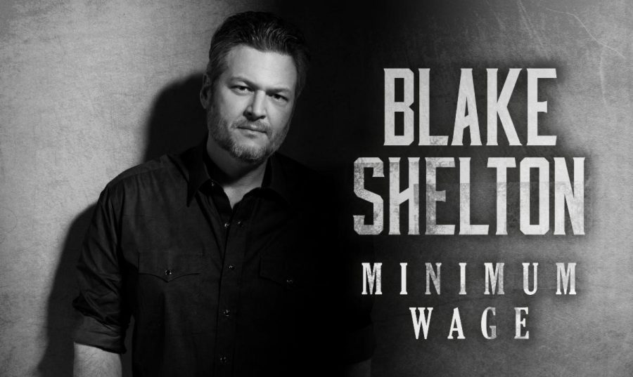 "Audiences react negatively to Blake Shelton's song ""Minimum Wage"""