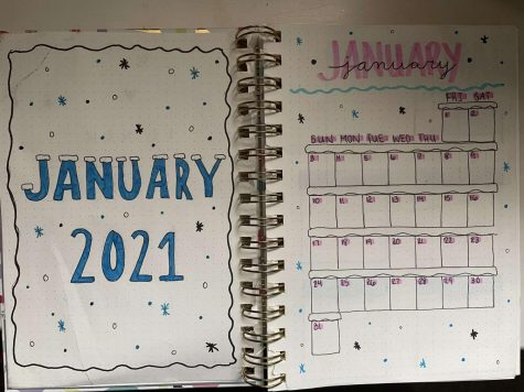 Alexandra Pawlitz  starts her year off right with her bullet journal!