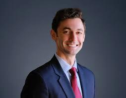 Jon Ossoff was also elected to represent Georgia.