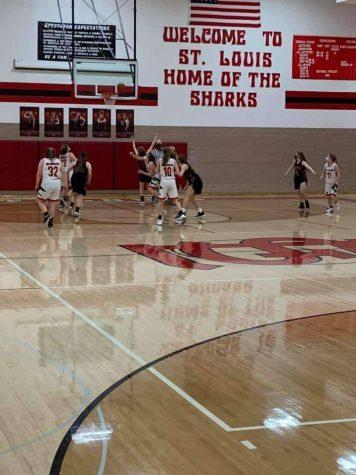 SLHS girls basketball team beats Vestaburg Wolverines