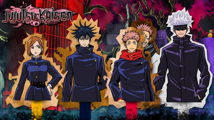 Promotion for Jujutsu Kaisen.