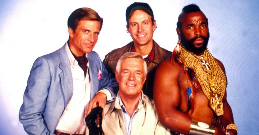 The A-Team promotion.