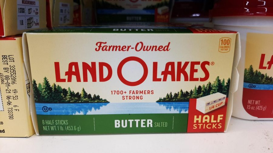 Land O Lakes butter has changed their logo.