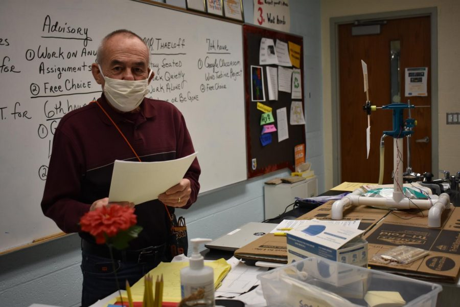 Robert Threloff is still making a difference by teaching at St. Louis High School