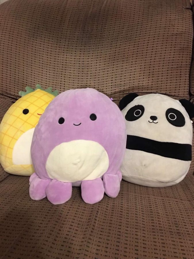Squishmallows are rising in popularity.