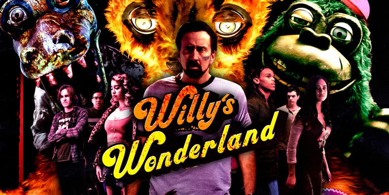 Promotion for Willy's Wonderland.